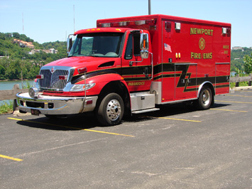 Medic Unit 982 2006 International AEV