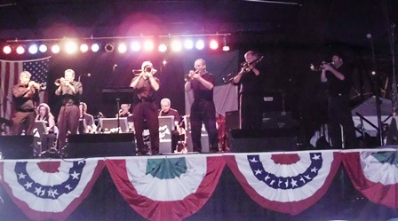 Pete Wagner Orchestra performing at 2013 Italianfest