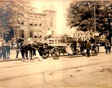 Horse Drawn Hose Wagon