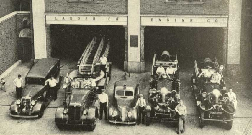 Newport Fire Headquarters 1947