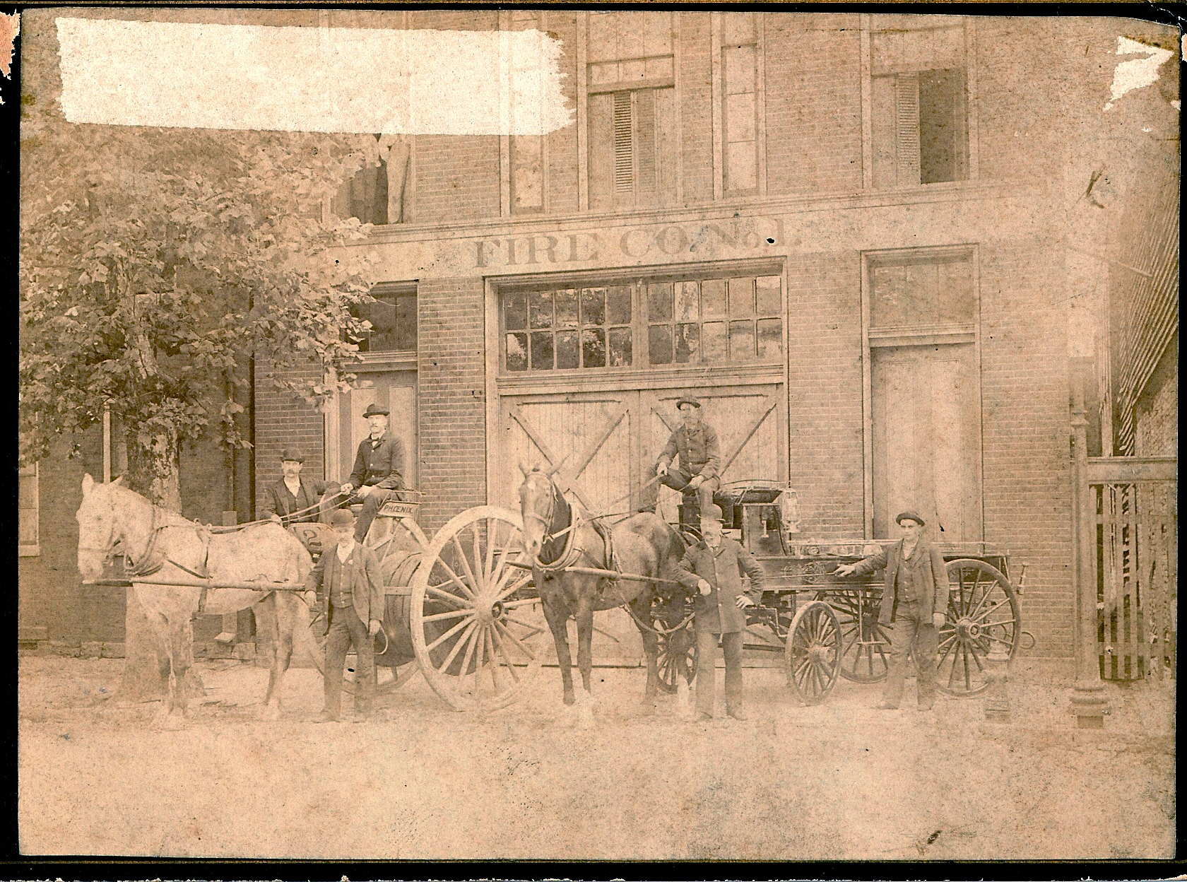 Washington Fire Company 1 Late 1800's