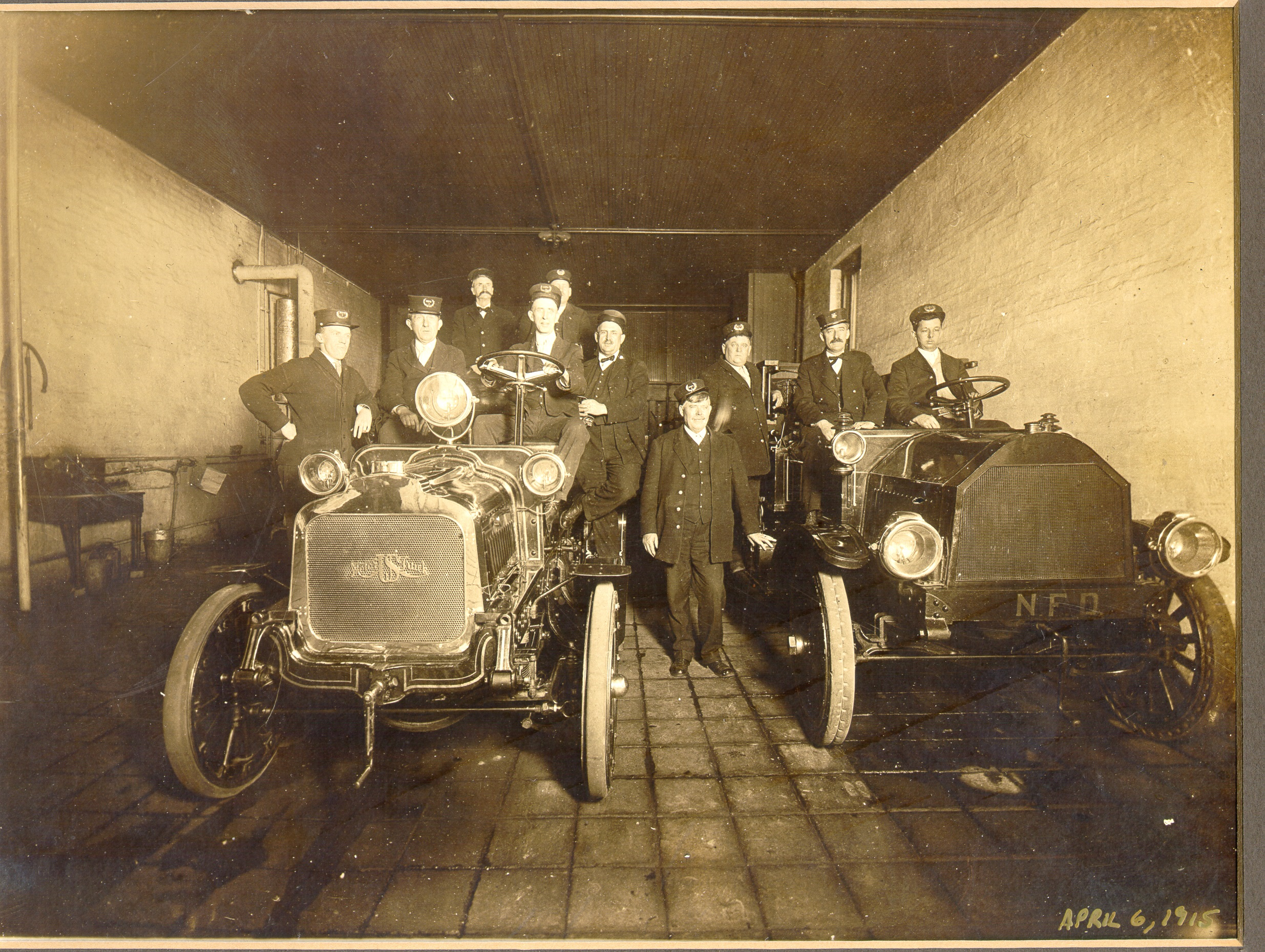 Newport Fire Early Motor Cars