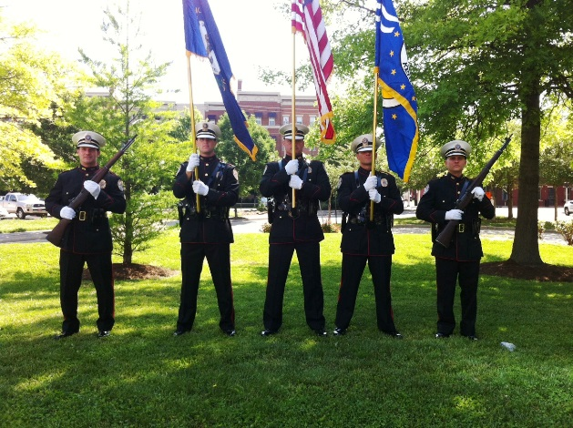 NPD Honor Guard May 2012