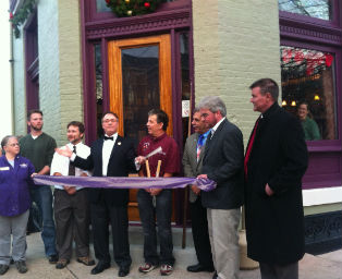 Preservation Award Winners Crazy Fox Saloon Re-Dedication 11-30-12
